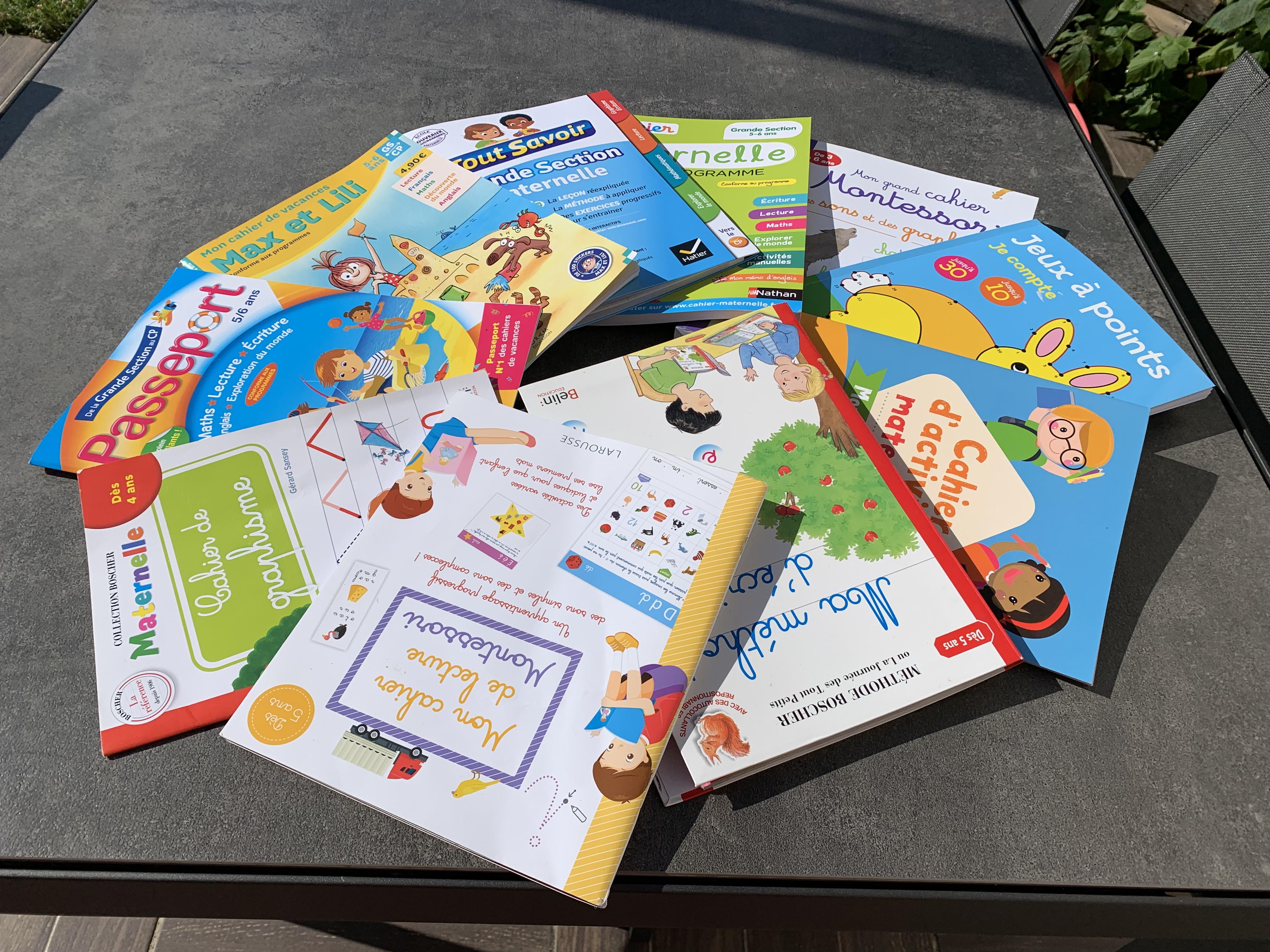 5 choses à savoir avant d'acheter un cahier de vacances (Montessori ou pas)
